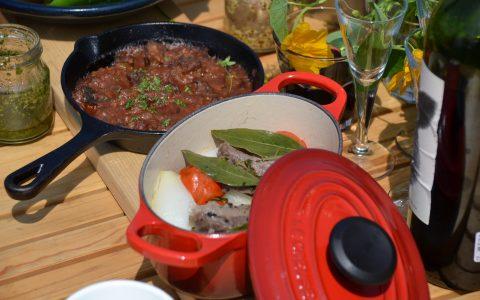 グランピング アウトドア 料理 体験 調理 食事 イベント おしゃれ